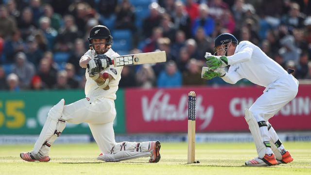 New Zealand vs. England (Test 2, Day 4)