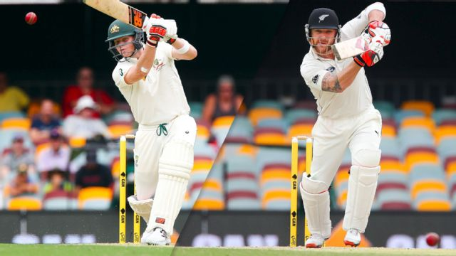 Australia vs. New Zealand (Test 1, Day 1)