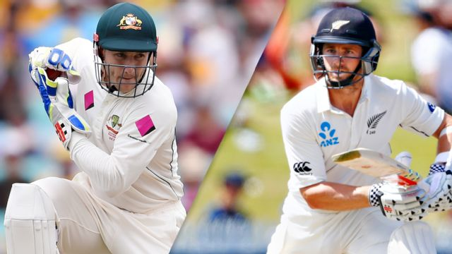 Australia vs. New Zealand (Test 1, Day 2)