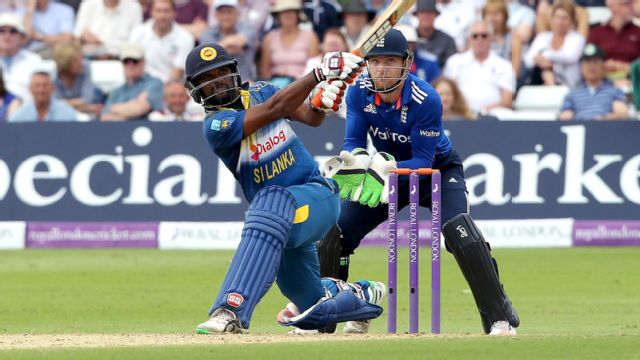 Sri Lanka vs. England (4th ODI)