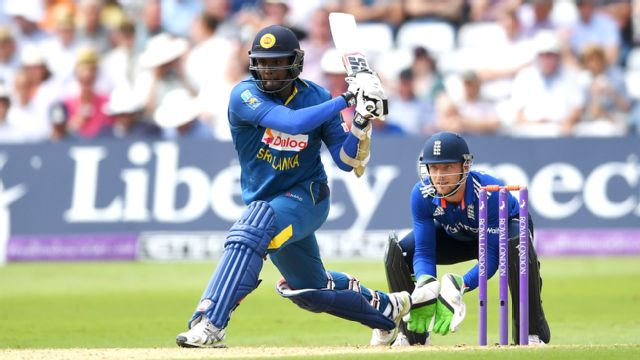 Sri Lanka vs. England (5th ODI)