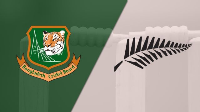 Bangladesh vs. New Zealand (2nd Test- Day 3)