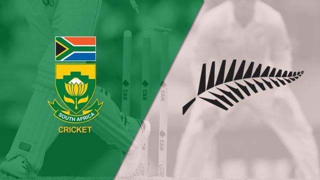 South Africa vs. New Zealand (4th ODI) (International Cricket)