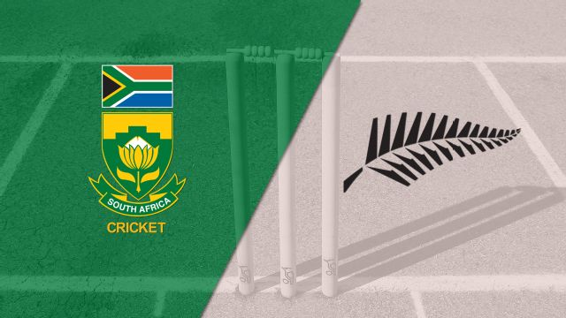 South Africa vs. New Zealand (Test 3, Day 1) (International Cricket)