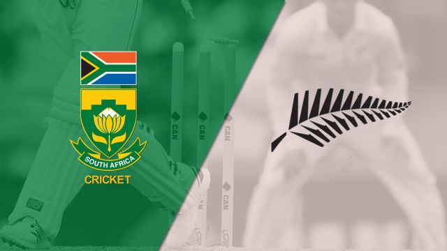 South Africa vs. New Zealand (Test 3, Day 2) (International Cricket)