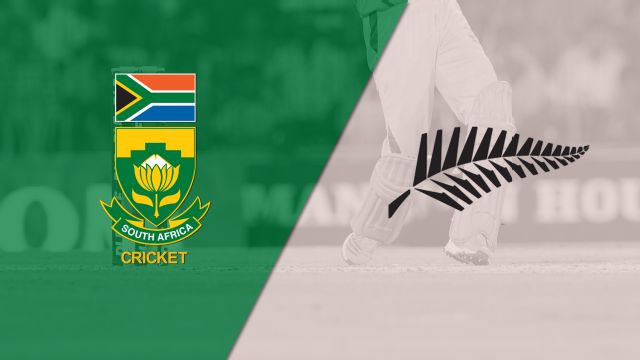 South Africa vs. New Zealand (Test 3, Day 3) (International Cricket)