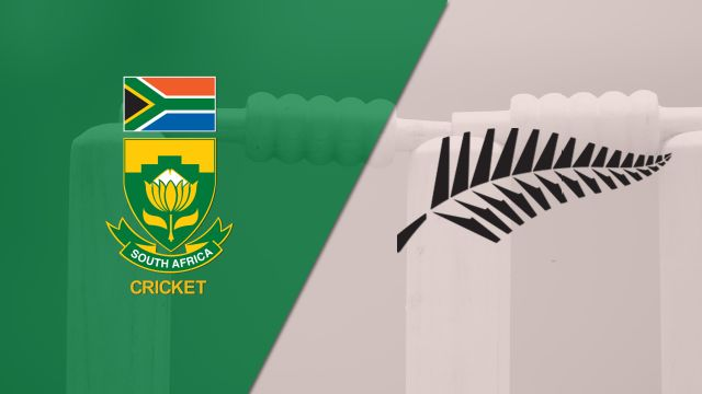 South Africa vs. New Zealand (Test 3, Day 4) (International Cricket)