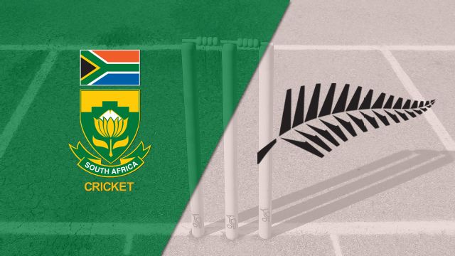South Africa vs. New Zealand (Test 3, Day 5) (International Cricket)