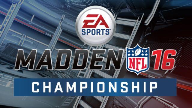 Madden NFL 16 Championship