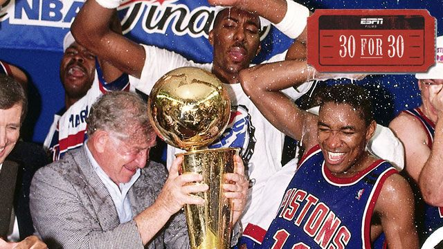 30 For 30: Bad Boys presented by Infiniti