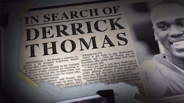 SEC Storied: In Search of Derrick Thomas Presented By Belk