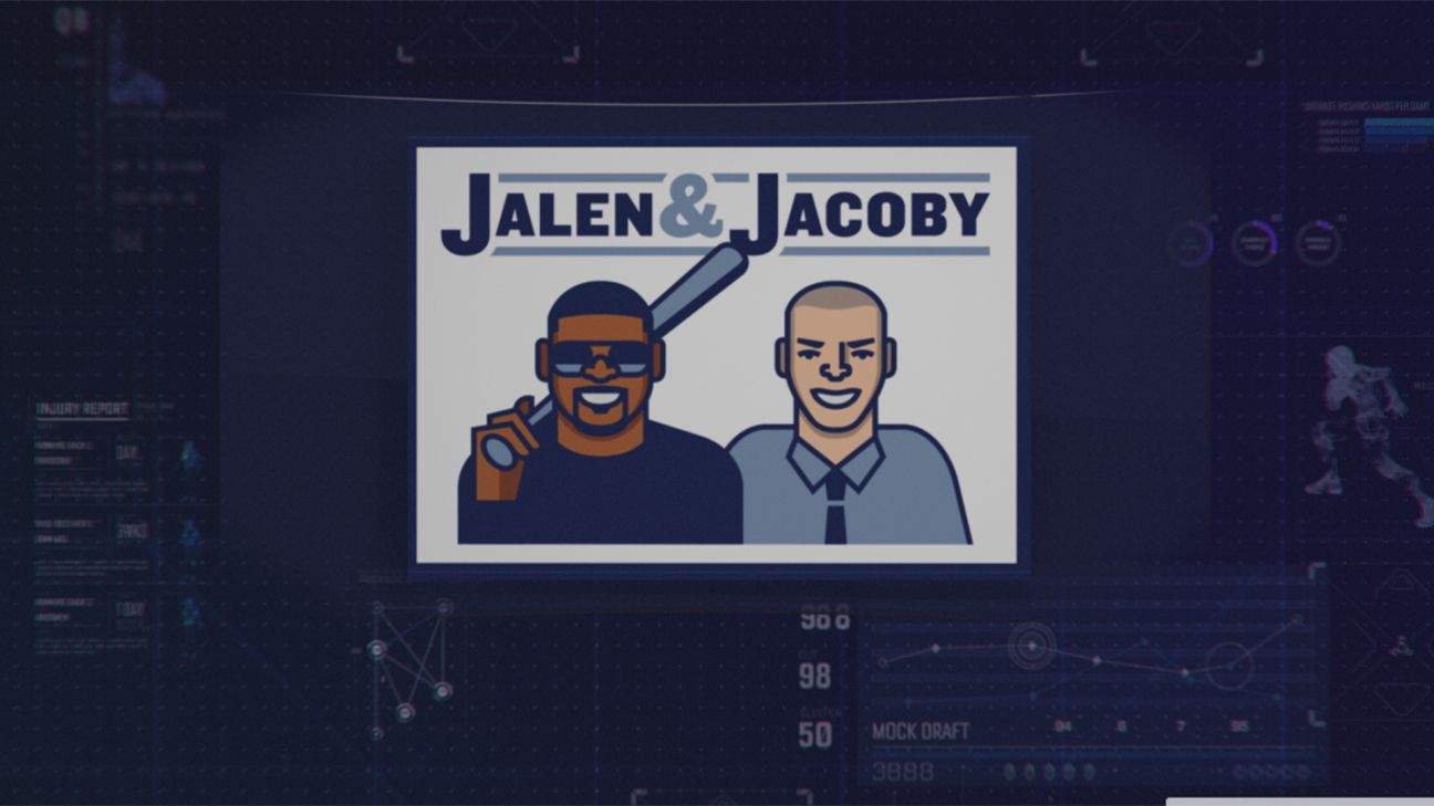 Jalen amp; Jacoby as part of the ESPN Fantasy Football Marathon presented