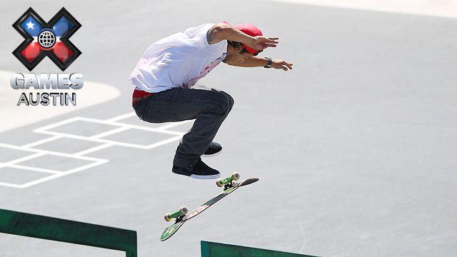 X Games Austin: Skateboard Street Men's Elimination, Enduro X Men's And Women's Final