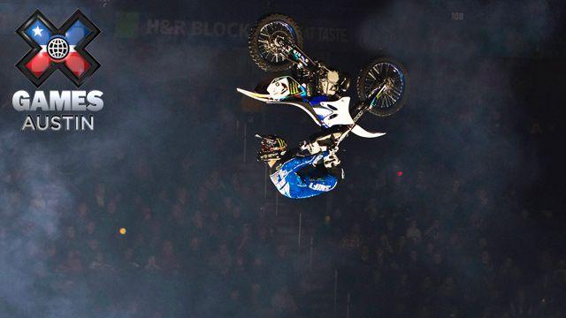 En Espa�ol - X Games Austin: Moto X Freestyle Final, BMX Big Air Final