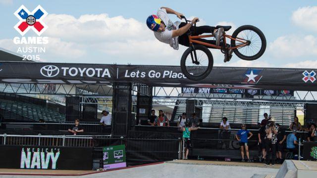 2015 X Games Austin: BMX Park Round 1 & FINAL
