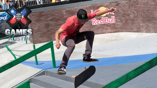2015 X Games Austin: Off-Road Truck Racing RD1/LCQ/FINAL, Skateboard Mens Street Rd1/FINAL, Moto X