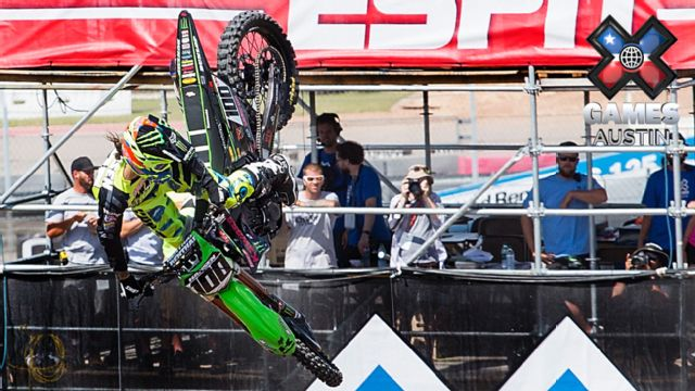 X Games: Skateboard Park FINAL, Moto X Best Whip/QuarterPipe