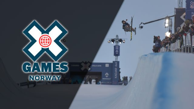 In Spanish - X Games Norway: Women's & Men's Ski & Snowboard SuperPipe Big Air Finals