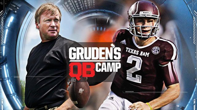 SportsCenter Special: Gruden's QB Camp - Johnny Manziel