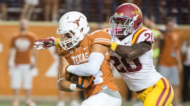 Texas Football Overdrive - Iowa State vs. Texas (re-air)
