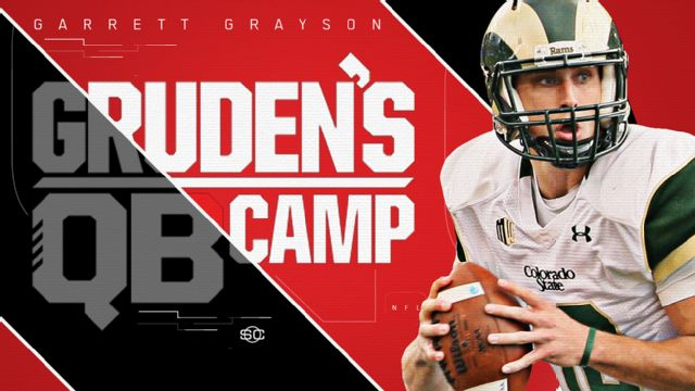 SportsCenter Special Presented by Experian: Gruden's QB Camp - Garrett Grayson