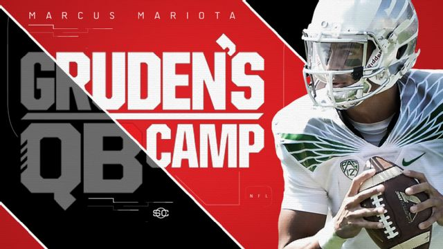 SportsCenter Special Presented by Experian: Gruden's QB Camp - Marcus Mariota