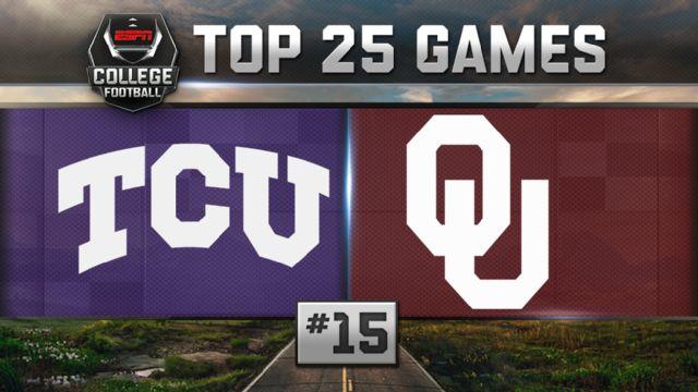 TCU vs. Oklahoma (Football) (re-air)