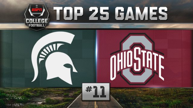 Michigan State vs. Ohio State (Football) (re-air)