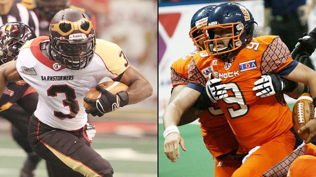 Iowa Barnstormers vs. Spokane Shock