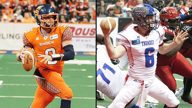 Spokane Shock vs. Portland Thunder