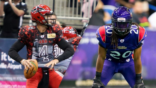 Jacksonville Sharks vs. New Orleans Voodoo