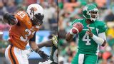 BC Lions vs. Saskatchewan Roughriders