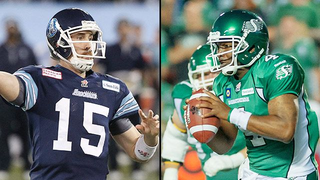 Toronto Argonauts vs. Saskatchewan Roughriders