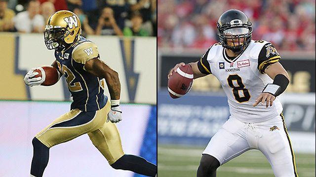 Winnipeg Blue Bombers vs. Hamilton Tiger-Cats