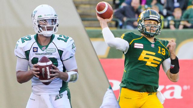 Edmonton Eskimos vs. Saskatchewan Roughriders