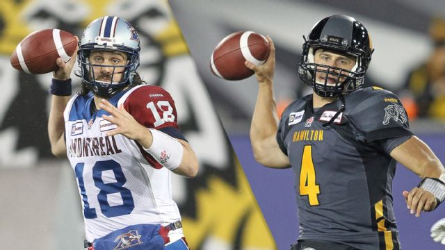 Montreal Alouettes vs. Hamilton Tiger-Cats (Eastern Finals)