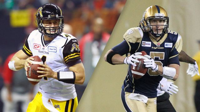 Hamilton Tiger-Cats vs. Winnipeg Blue Bombers