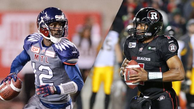 Montreal Alouettes vs. Calgary Stampeders