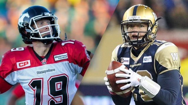 Calgary Stampeders vs. Winnipeg Blue Bombers