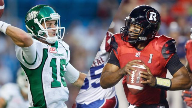Saskatchewan Roughriders vs. Ottawa Redblacks