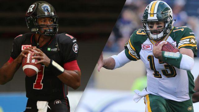 Ottawa Redblacks vs. Edmonton Eskimos