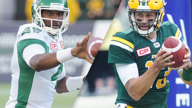 Saskatchewan Roughriders vs. Edmonton Eskimos
