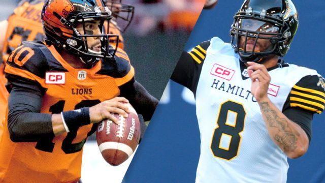 BC Lions vs. Hamilton Tiger-Cats