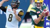 Hamilton Tiger-Cats vs. Edmonton Eskimos