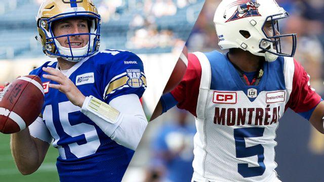 Winnipeg Blue Bombers vs. Montreal Alouettes