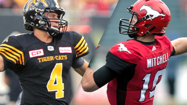 Hamilton Tiger-Cats vs. Calgary Stampeders