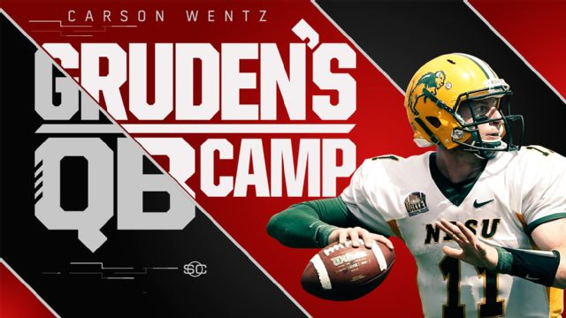 SportsCenter Special Presented by Stouffer's: Gruden's QB Camp - Carson Wentz