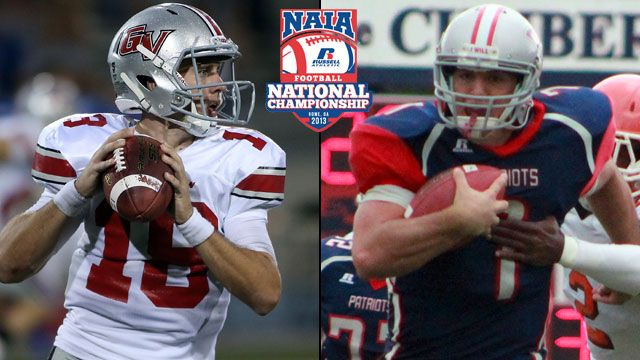 Grand View (IA) vs. Cumberlands (KY) (Championship): 2013 NAIA Football Championship