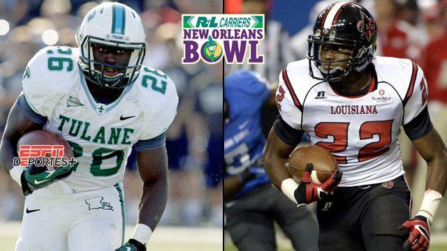 En Espa�ol - Tulane vs. Louisiana-Lafayette: R+L Carriers New Orleans Bowl