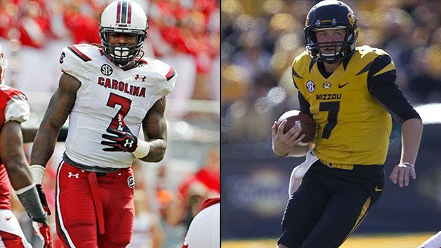 #21 South Carolina vs. #5 Missouri